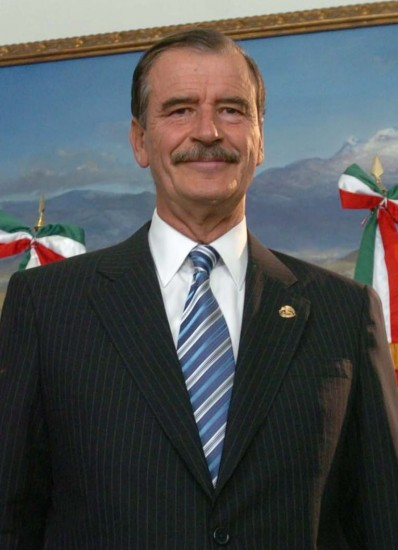 Vicente Fox (Wikimedia Commons)