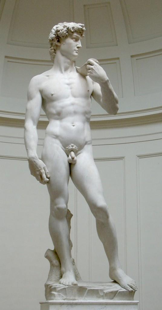 Michaelangelos Davidstatue (Rico Heil / Wikimedia Commons)
