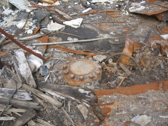 Das versiegelte Bohrloch (Wikimedia Commons)