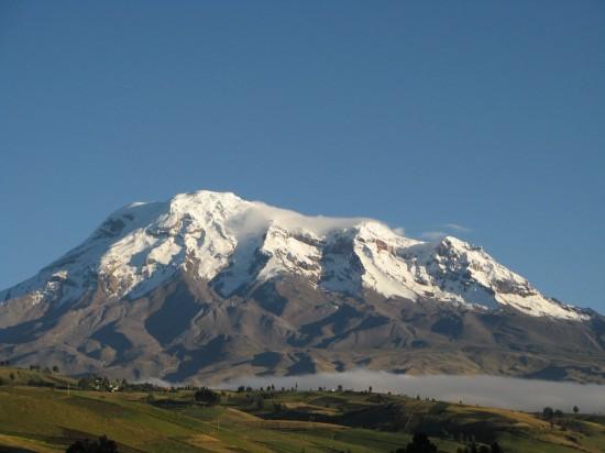 Chimborazo (Wikimedia Commons)