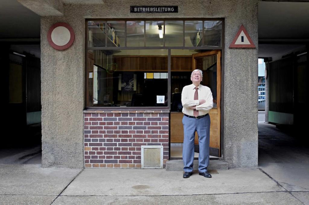 Kurt Weber, Besitzer der Apollogarage