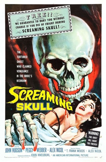 The Screaming Skull (via Wikimedia Commons)