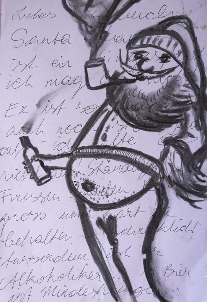 Santa Alkoholiker - Pavels Illustration #10