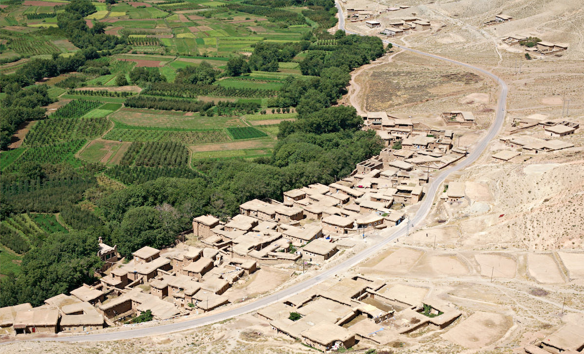 Marokko, Hoher Atlas. Ohne Wasser kann nichts wachsen.