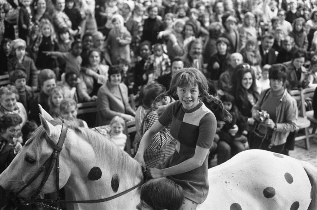 Inger Nilsson als Pippi Langstrumpf 1972 (Wikimedia Commons)