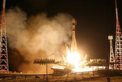 Start der Foton M4 Mission an einer Syuz Trägerrakete in Kasachstan © Roscosmos