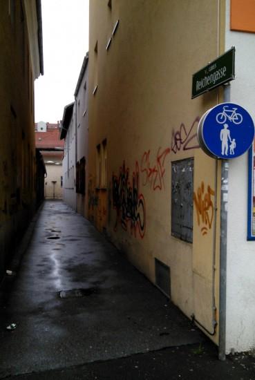 Die Reichengasse in Graz