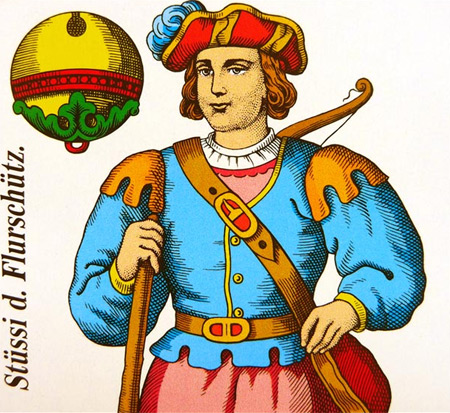 Stüssi auf den Piatnik (C) Spielkarten