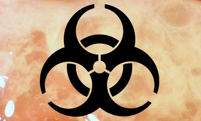 Biologische Gefahr Sperma