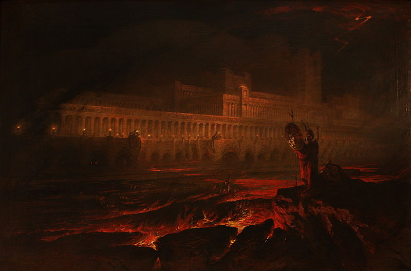 Pandemonium (John Martin 1841/1825)