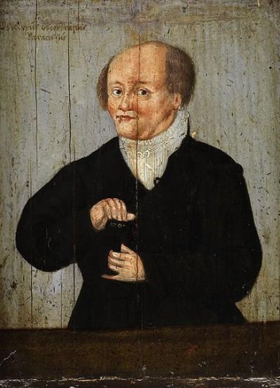 Paracelsus (vermutlich  Stich von Augustin Hirschvogel / 1540 via wikimedia commons)