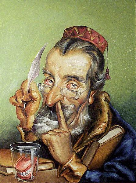 Ettore Borzacchini beim Bohren in der Nase. Ob er seinen Rotz verspeist bleibt unklar.