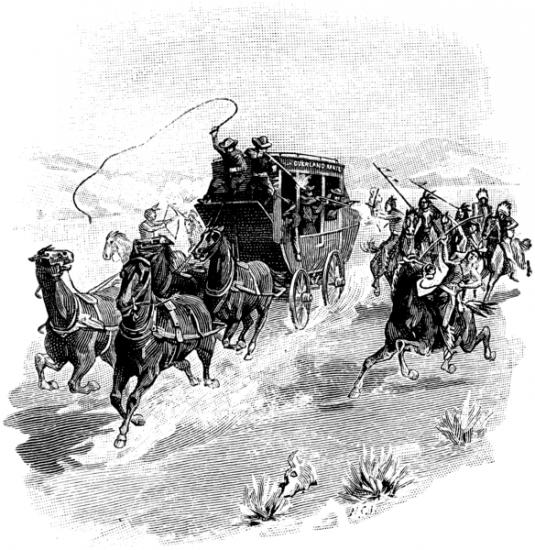 """Riding shotgun. Während der Kutscher die Peitsche schwingt, kümmert sich der """"shotgun messenger"""" um die Bösen."""