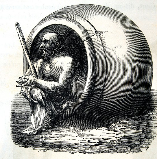 Diogenes (wikimedia commons)