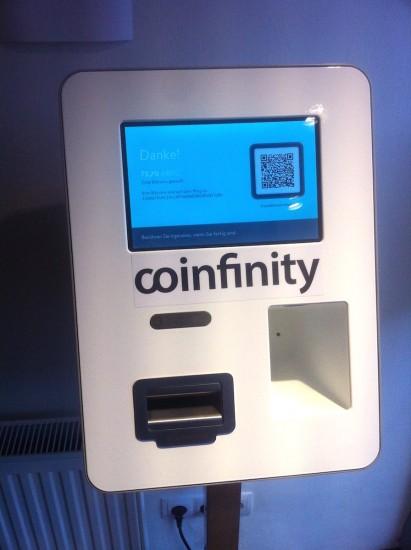 Der Bitcoin-Automat