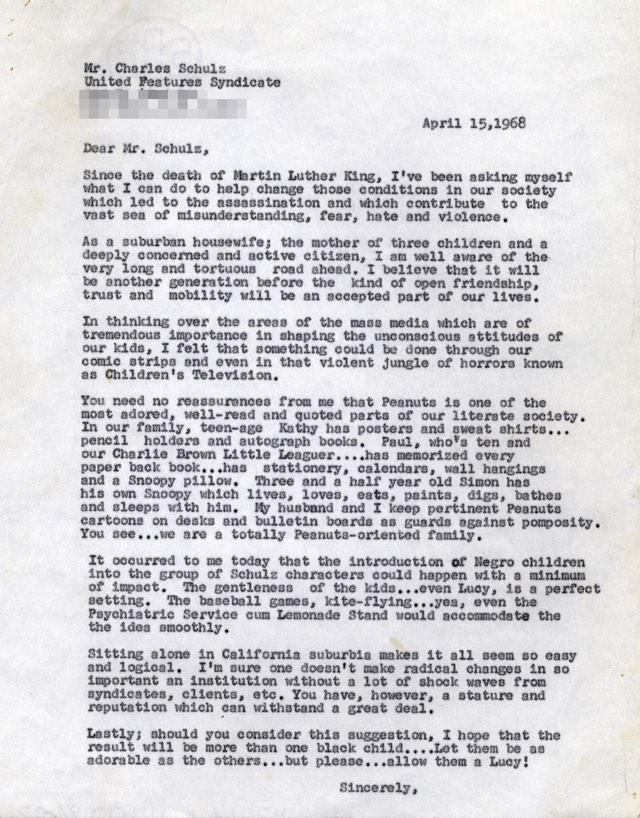 Einer von Glickmans Briefen. (via