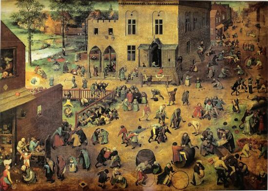 Die Kinderspiele (Pieter Bruegel der Ältere / 1560 / wikimedia commons)