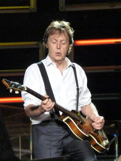 Paul McCartney wie wir ihn heute kennen (Wikimedia Commons)