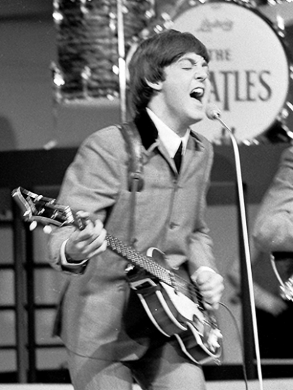 Der echte (?) Paul McCartney (Wikimedia Commons)