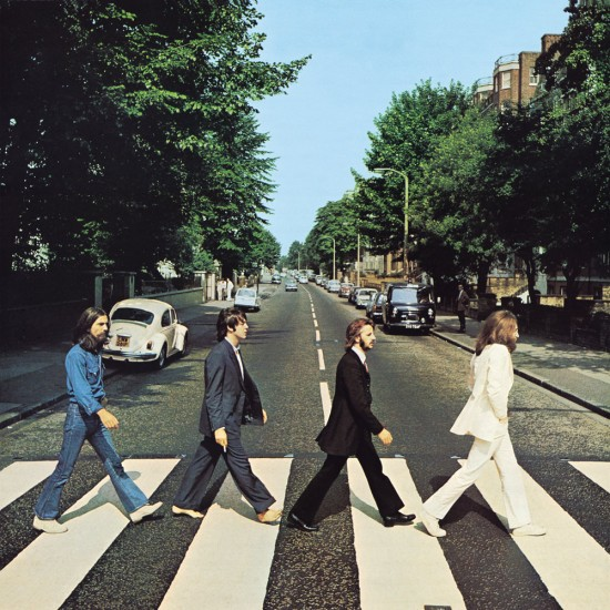 Das Cover von Abbey Road (via thebeatles.com)