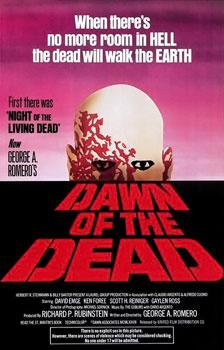 """""""Wenn die Hölle voll ist..."""" Dawn of the Dead - Poster (via en.wikipedia)"""