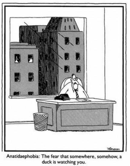 Anatidaephobie (via comicsbulletin.com)