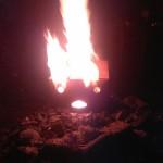 Brennendes Gesicht 01