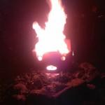 Brennendes Gesicht 02