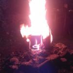 Brennendes Gesicht 04