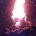 Brennendes Gesicht 05