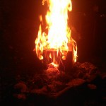Brennendes Gesicht 06