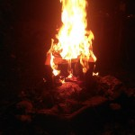 Brennendes Gesicht 08