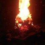 Brennendes Gesicht 09