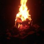 Brennendes Gesicht 10