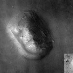 Das Marsgesicht (Quelle: wikimedia commons / NASA/JSF/UoA)