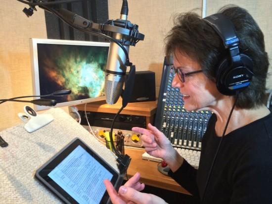 Susan Bennett in ihrem Heimstudio (via vox.com)