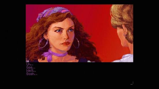 MI2: Schöne Frau, sprachloser Freibeuter (Quelle: http://lazyreviewzzz.com)