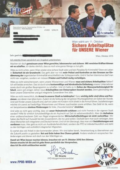 Scan aus dem FPÖ Bürgermagazin