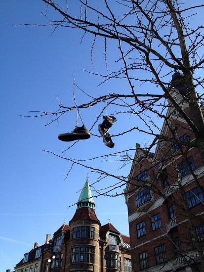 Schuhbaum in Kopenhagen (Karen Mardahl / wikimedia commons)