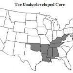 """Die """"unterentwickelten"""" Bundesstaaten der USA"""