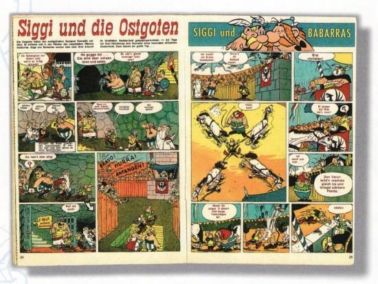 Doppelseite aus Siggi und die Ostgoten (via shock2.info)