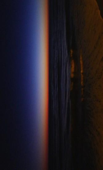 Farbenreicher Sonnenuntergang in Cadiz vertikal