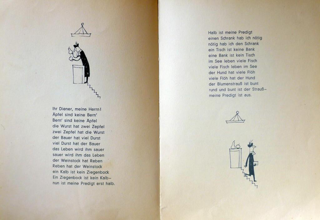 Zwei Hälften Predigt (Auszug aus einem Kinderbuch)