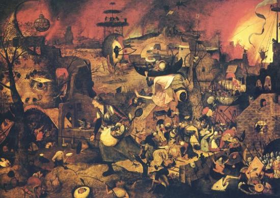"""""""Die tolle Grete"""" von Pieter Bruegel, dem Älteren (ca. 1562 / wikimedia commons)"""