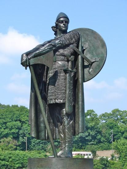 Thorfinn Karlsefni als Statue von Einar Jónsson (Wikimedia Commons)