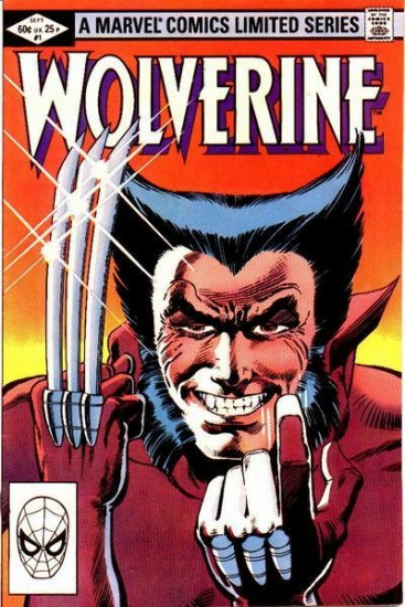 Wolverine als Comicfigur (Frank Miller / Marvel Comics via wikimedia commons)