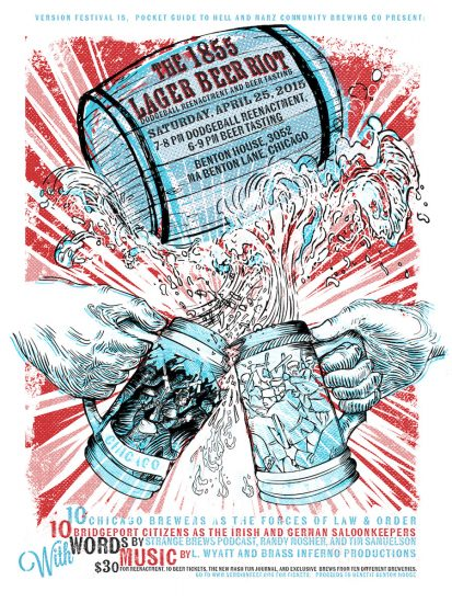 The 1855 Lager Beer Riot als Inspiration für ein Bierfestival (via strangebrewspodcast.tumblr.com)