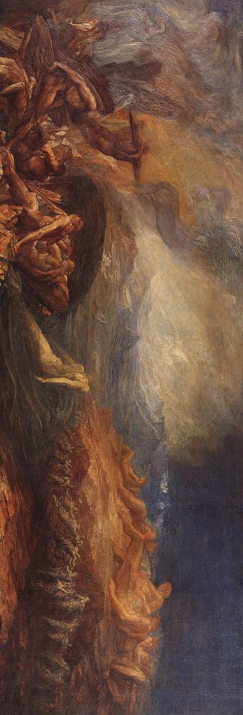 Chaos (George Frederic Watts / 1875 / wikimedia commons), hochkant