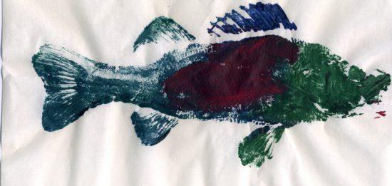 Gyotaku (Thatha / wikimedia commons)