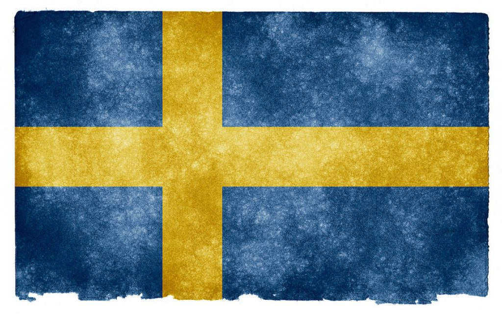 Sweden Grunge Flag von Flickr-User Nicolas Raymond